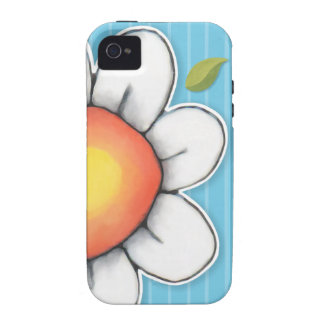 Daisy Joy blue iPhone 4/4S Tough Case Vibe iPhone 4 Cases