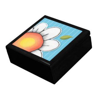 Daisy Joy blue Large Tile Gift Box