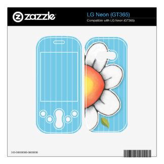 Daisy Joy blue LG Neon GT365 Skin Skins For LG Neon