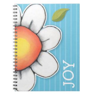 Daisy Joy blue Notebook