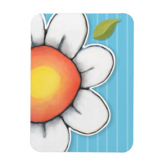 Daisy Joy blue Premium Magnet