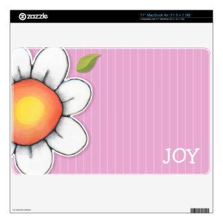 "Daisy Joy pink 11"" MacBook Air Skin"
