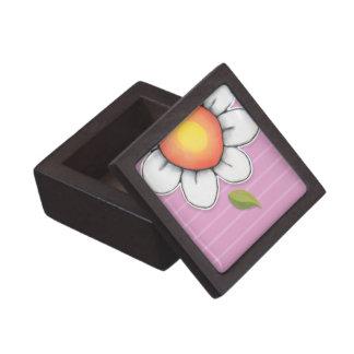 "Daisy Joy pink 2"" x 2"" Gift Box Premium Keepsake Boxes"