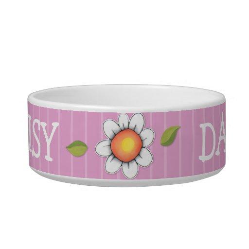 Daisy Joy pink Cat Pet Bowl