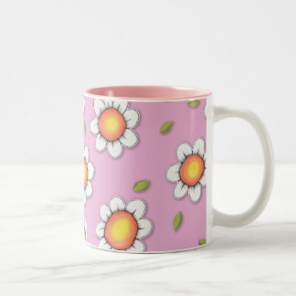 Daisy Joy pink Daisies Mug