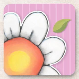 Daisy Joy pink Drink Coasters