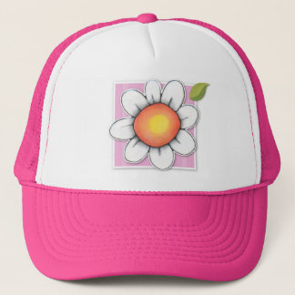 Daisy Joy pink Hat