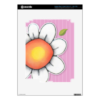 Daisy Joy pink iPad 3 Skin