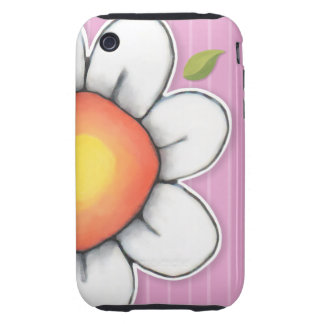 Daisy Joy pink iPhone 3/3GS Tough Case