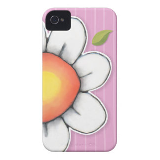 Daisy Joy pink iPhone 4/4S Barely There Case