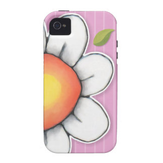 Daisy Joy pink iPhone 4/4S Tough Case Case-Mate iPhone 4 Covers
