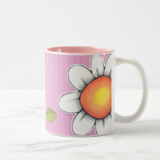 Daisy Joy pink Mug