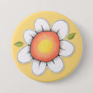 Daisy Joy yellow 1 Button