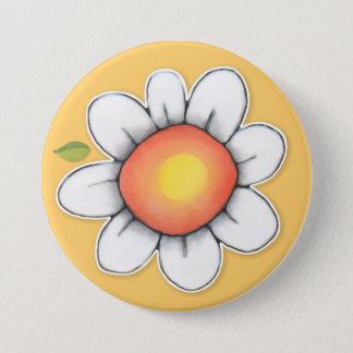 Daisy Joy yellow 2 Button