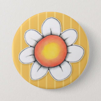 Daisy Joy yellow 3 Button