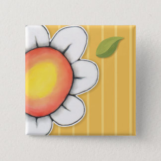 Daisy Joy yellow 4 Button