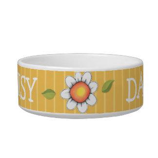 Daisy Joy yellow Cat Pet Bowl