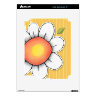 Daisy Joy yellow iPad 2 Skin