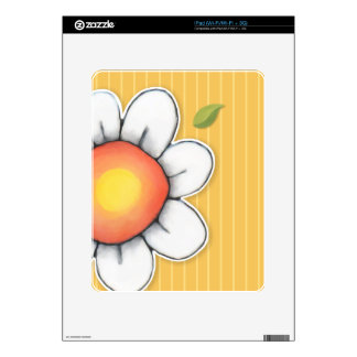 Daisy Joy yellow iPad Skin