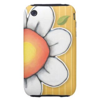 Daisy Joy yellow iPhone 3 3GS Tough Case Tough iPhone 3 Cases