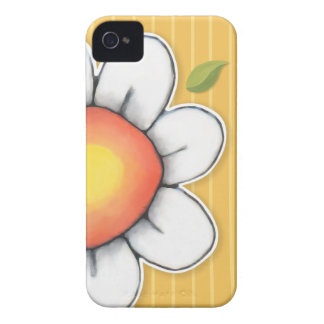 Daisy Joy yellow iPhone 4/4S Barely There Case iPhone 4 Cover