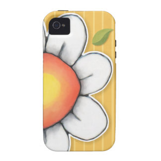 Daisy Joy yellow iPhone 4/4S Tough Case Case-Mate iPhone 4 Cover