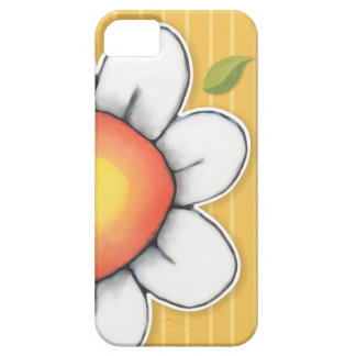 Daisy Joy yellow iPhone 5 Barely There Case iPhone 5 Cases