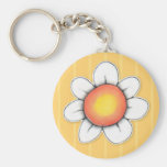 Daisy Joy yellow Keychain