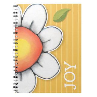 Daisy Joy yellow Notebook