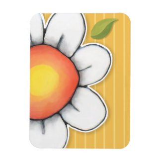 Daisy Joy yellow Premium Magnet