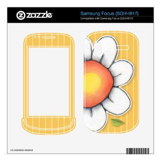 Daisy Joy yellow Samsung Focus Skin