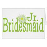 Daisy Jr. Bridesmaid Greeting Card