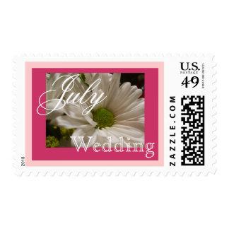 Daisy July Wedding Postage