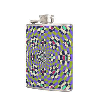 Daisy Kaleidoscope Flask