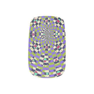 Daisy Kaleidoscope Minx ® Nail Art