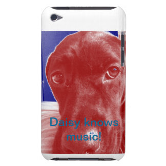 Daisy Knows Music iPod Touch Cover