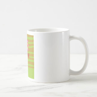 Daisy & Ladybug Classic White Coffee Mug