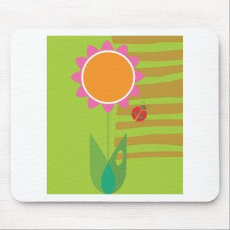 Daisy & Ladybug Mouse Pad