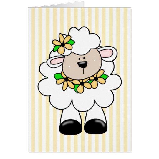 Daisy Lamb Card