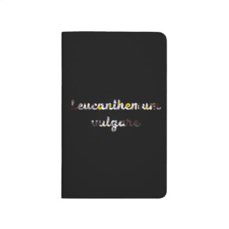 "Daisy ""Leucanthemum vulgare"" Blank Pocket Journal"