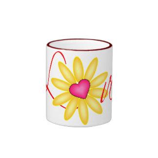 Daisy Love Coffee Mugs