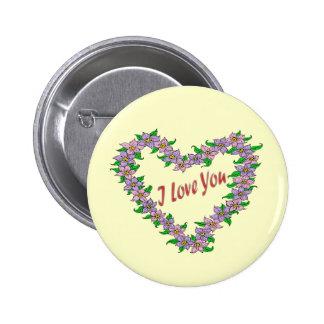 Daisy Love Pinback Button