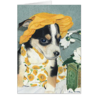 Daisy-Mae Dawg Greeting Cards