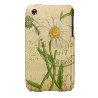 Daisy Mixed Media Collage Iphone Touch Cover