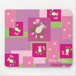 daisy monkey, Daisy Monkey Mouse Mat