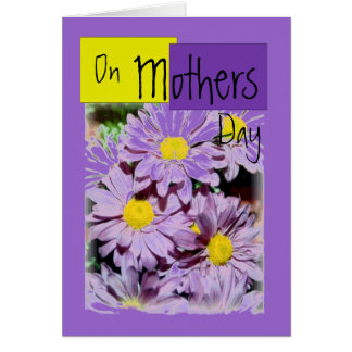 Daisy Mothers Day Card