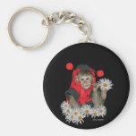 Daisy Muncher Keychains
