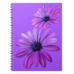 Daisy Notebook Purple Daisy Journals Gifts