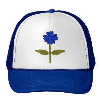 Daisy Ocean Blue Hat