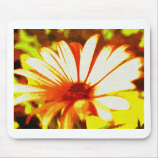 Daisy on Fire Mouse Pad
